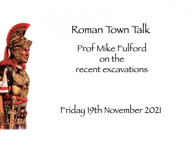 Roman Site Talk - Friday 27th March 2020