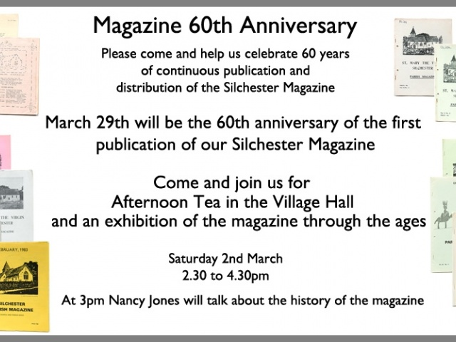 60th Anniversary of Silchester Magazine