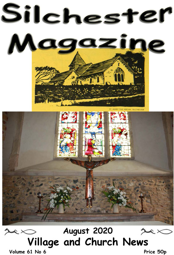 front cover Silchester Magazine 2020 August small-1