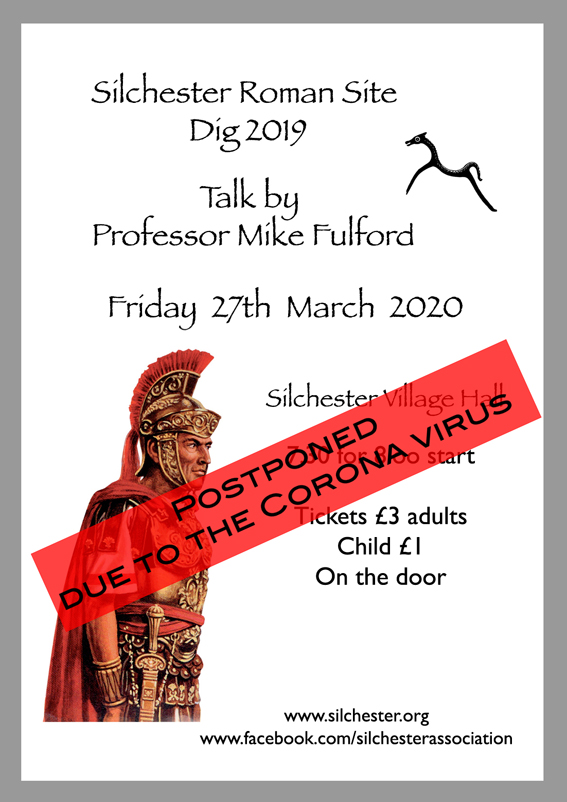 postponed A5 Prof fulford Roman Poster2020 low res
