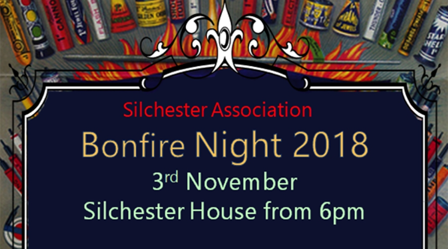 Bonfire Night - Saturday 3rd November 2018