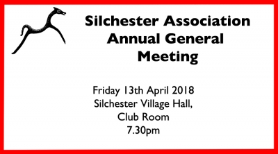 SA AGM 13th April 2018 - 7.30pm in the Club Room