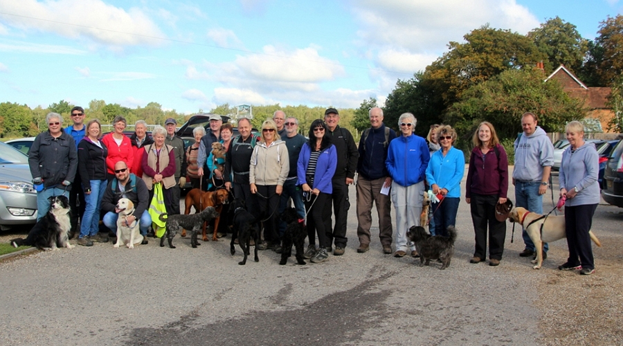 Silchester Boundary Walk - Sunday 15th October