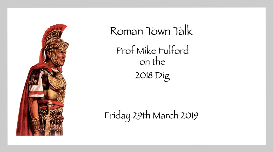 Roman Town Talk - Friday March 29th 2019